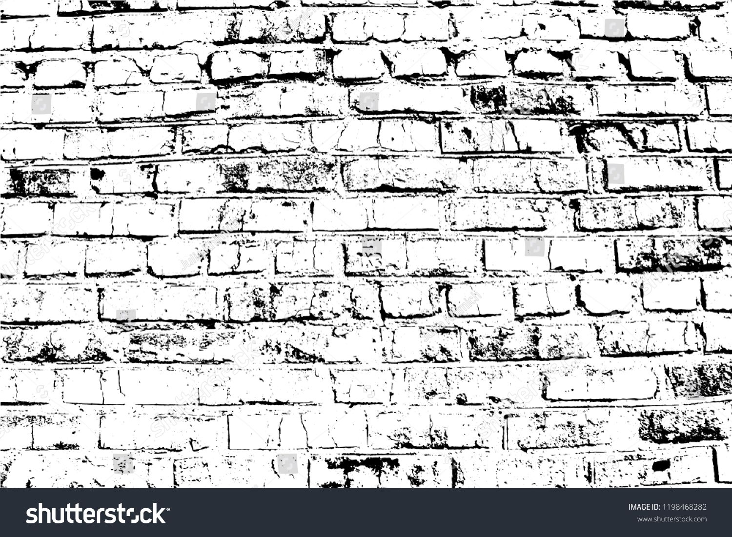 Vector Bricks And Stones Texture Abstract Background Old Brick Wall Overlay Illustration Over Any Design To Create G Brick Texture Old Bricks Textured Walls