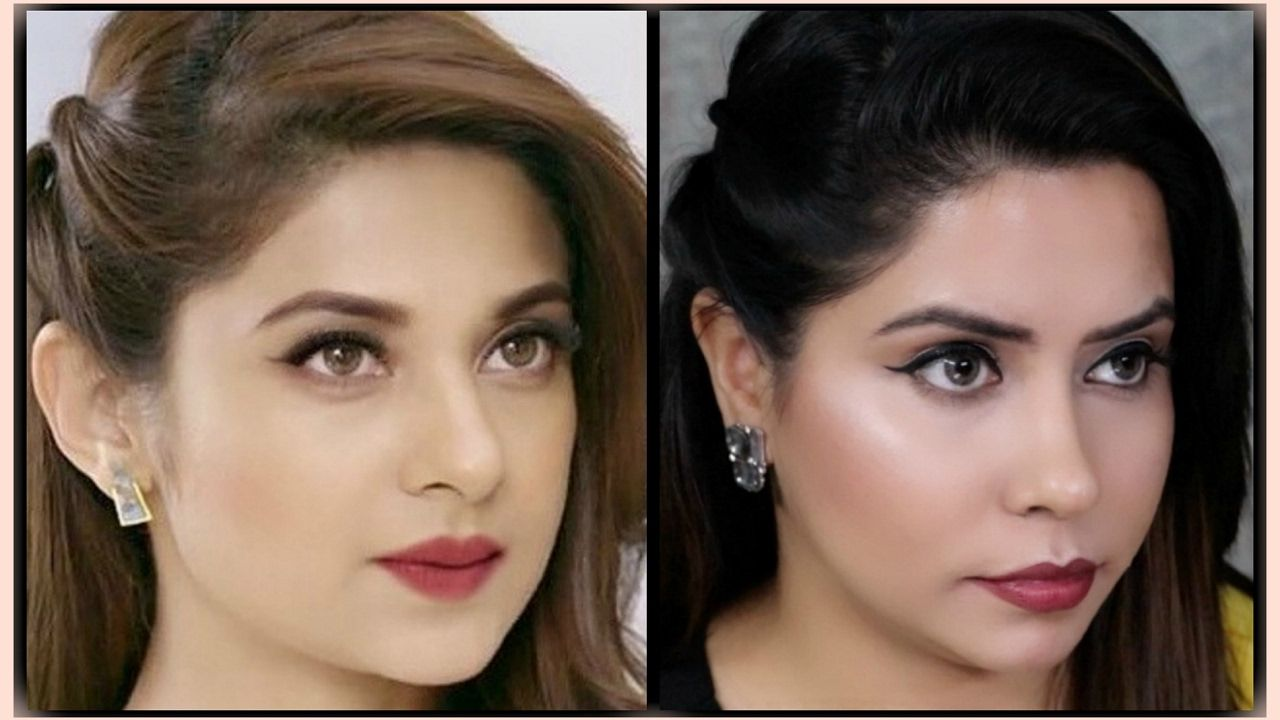 Maya Beyhadh Jennifer Winget Inspired Makeup Hair Tutorial Give Hair Tutorial Medium Hair Styles Hair Styles