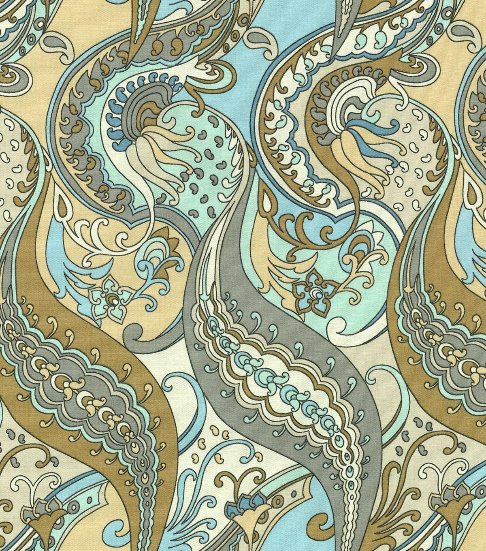 Waverly Home Decor Print Fabric Paisley Puzzle Ethereawaverly