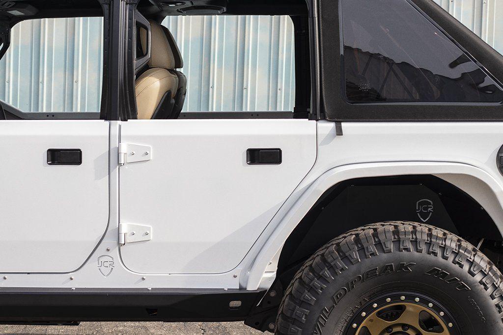 Jl Half Doors Rear Crusader Trail Doors 2018 Jeep Wrangler