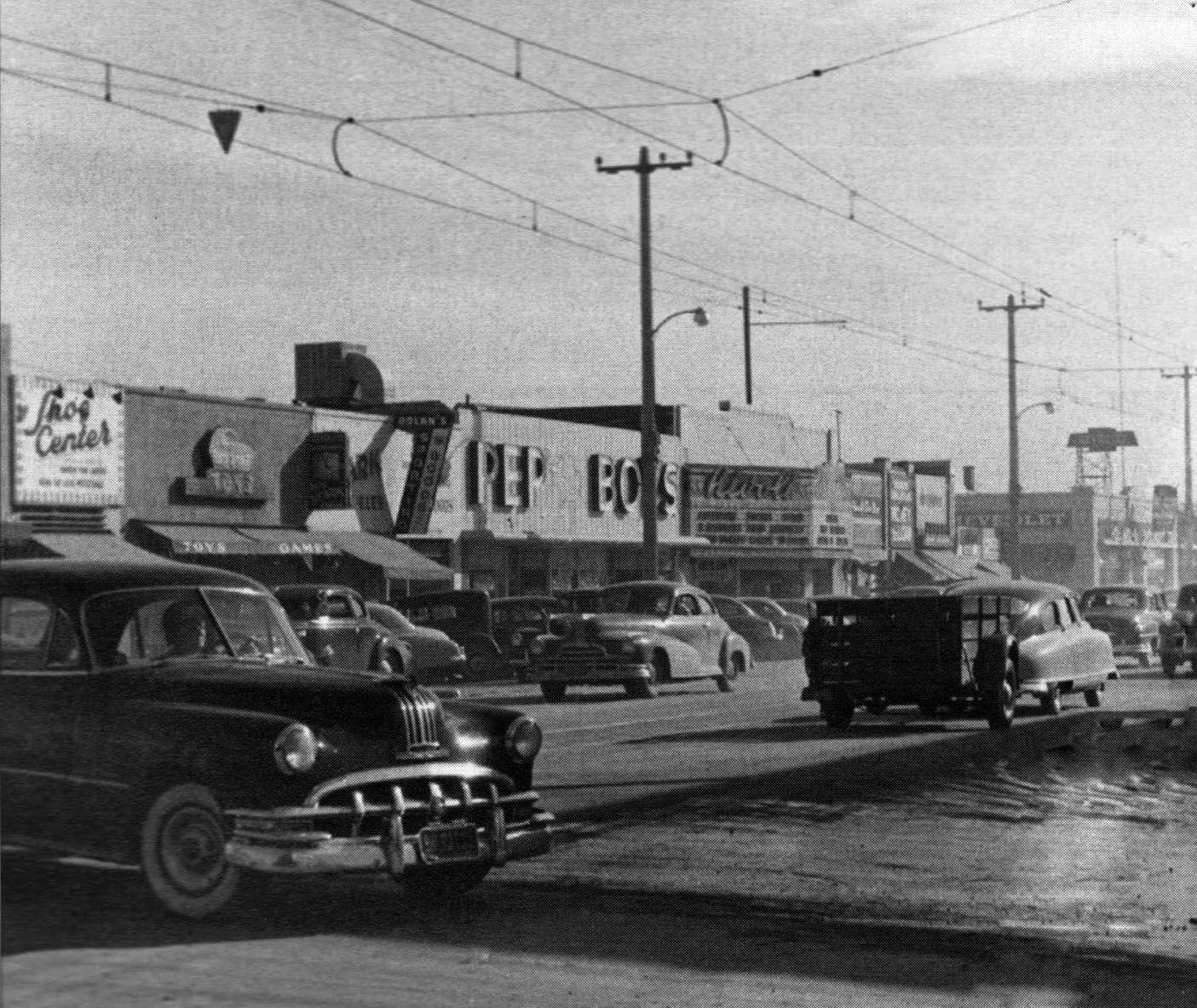 1952 Van Nuys Blvd San Fernando Valley How I Remember It