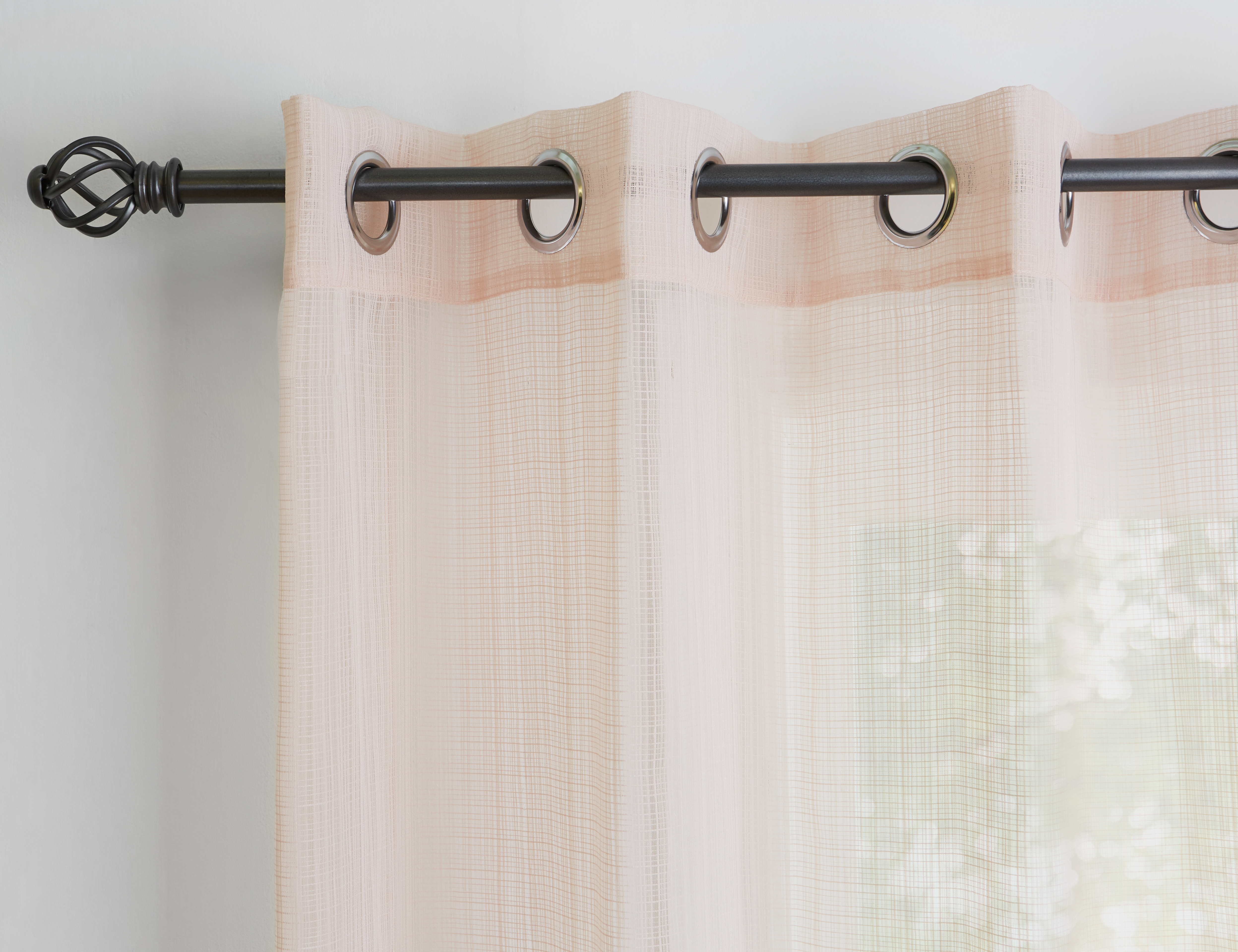 Charcoal Curtain Rod Set Structube Bruxelles Panel Curtains