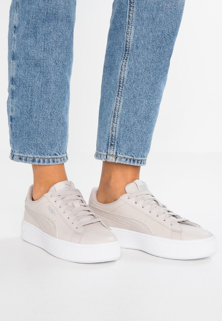 VIKKY STACKED - Sneaker low - silver/gray @ Zalando.ch ...