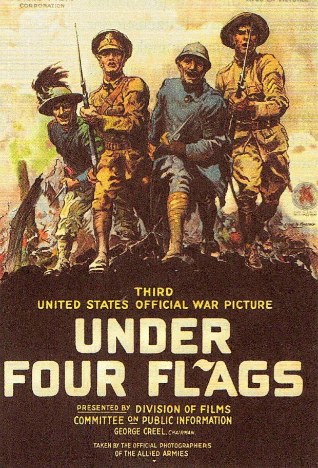 Amerikanisches Propagandaplakat November 1918.