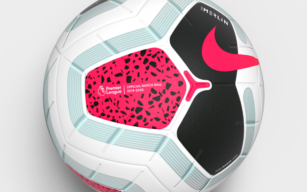 Nike Merlin Premier League Match Ball 2019 20 On Behance Premier League Premier League Matches League