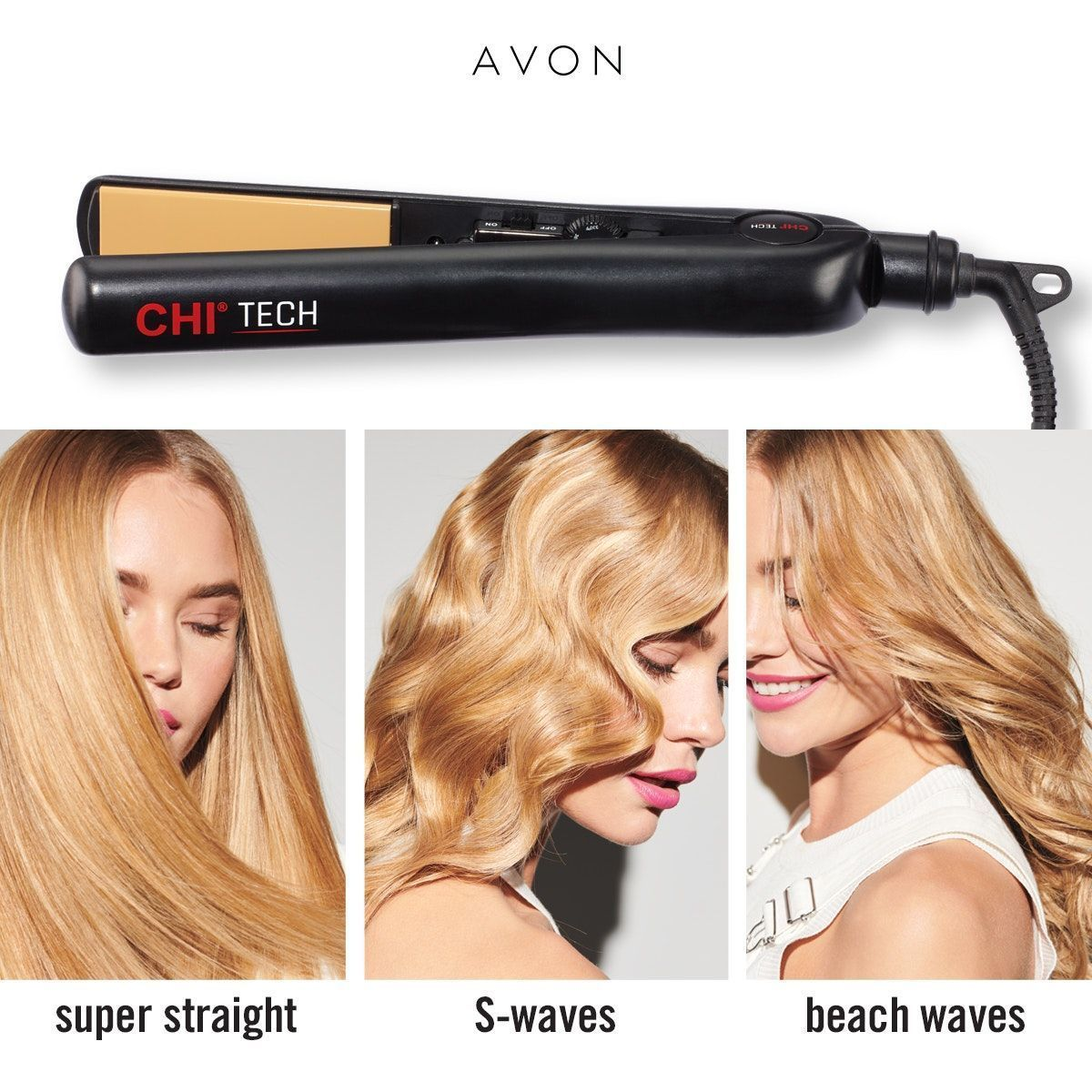 Chi Tech 1 Ceramic Dial Hair Styling Iron This Stylist Choice Award Winner Does It All Straighten Curl Flip Wa In 2020 Styling Iron Chi Hair Products Hair Styles