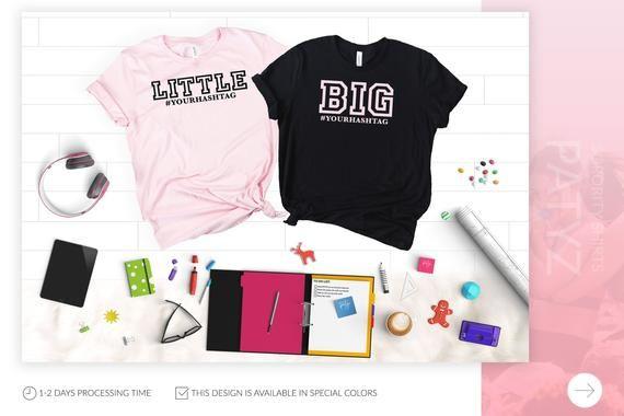 Big Little Sorority Reveal, Big Little Sorority T-Shirts, Big Little Shirts, Big Little Reveal Tshirts, Big Little Tee, Big Lil Reveal Tee #biglittlereveal