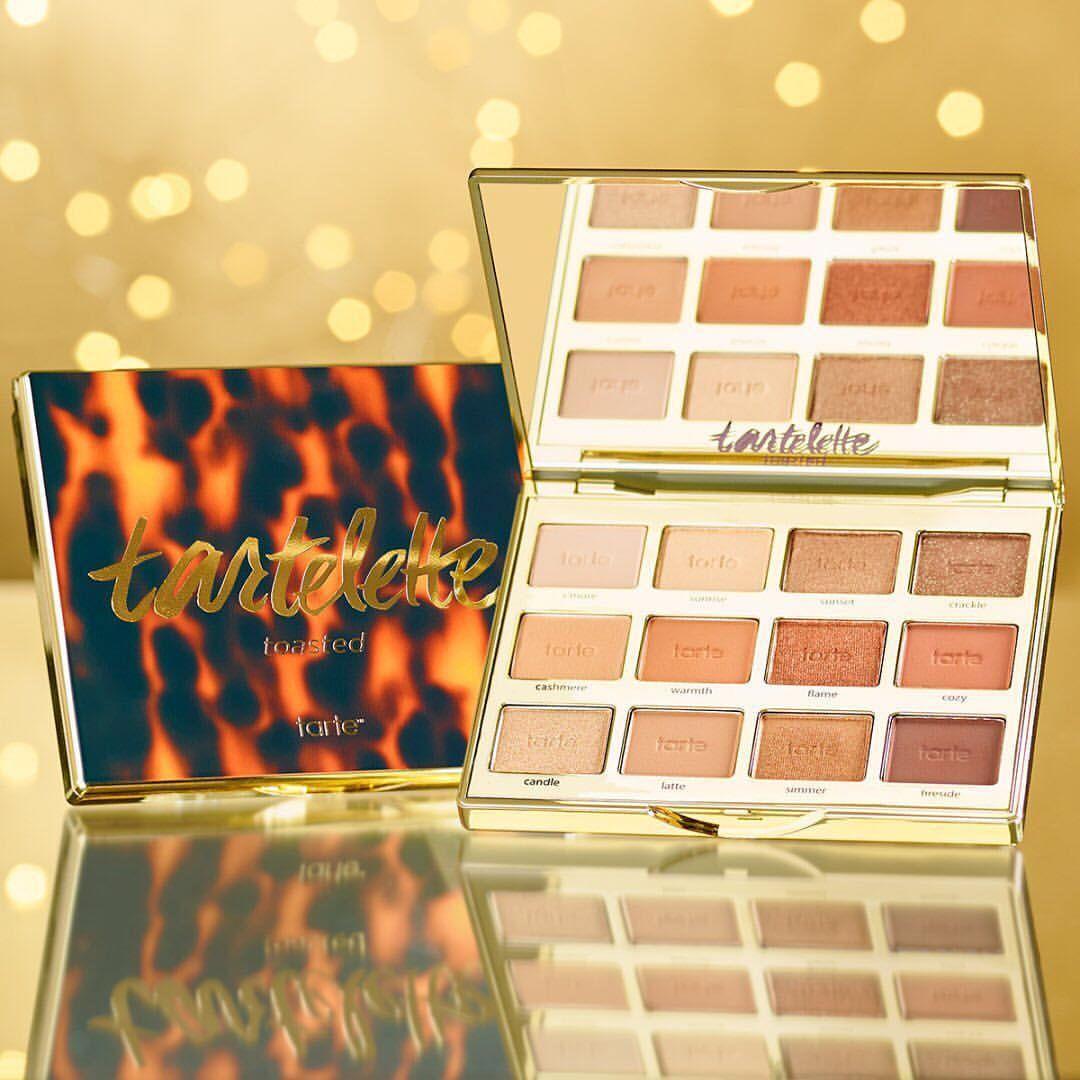 tartecosmetics Tartelette Toasted eyeshadow palette ad