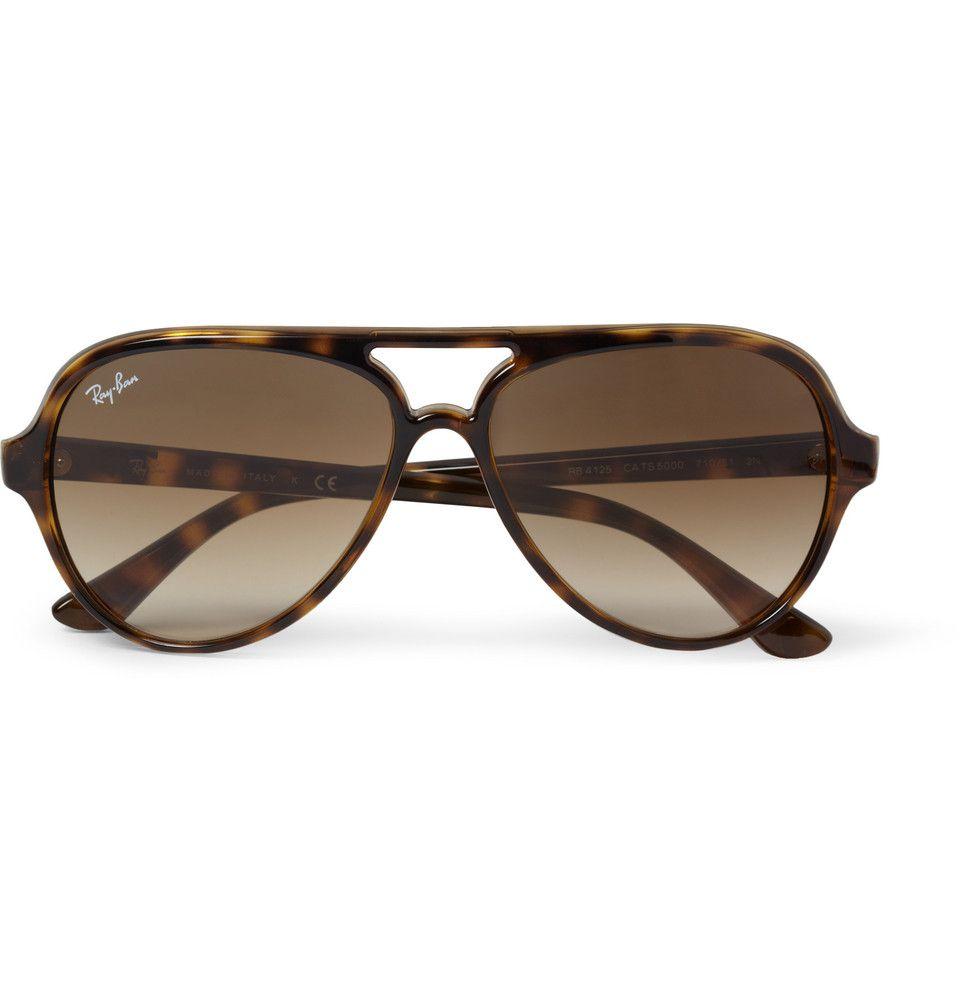 9e54dbae0b8 Ray-ban Acetate Aviator Sunglasses in Brown for Men (Tortoiseshell)