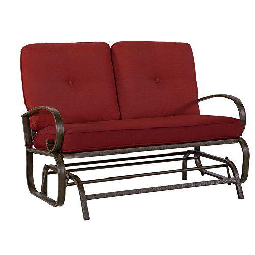 Cool Pin By Kim Watts On Backyard Outdoor Loveseat Patio Spiritservingveterans Wood Chair Design Ideas Spiritservingveteransorg