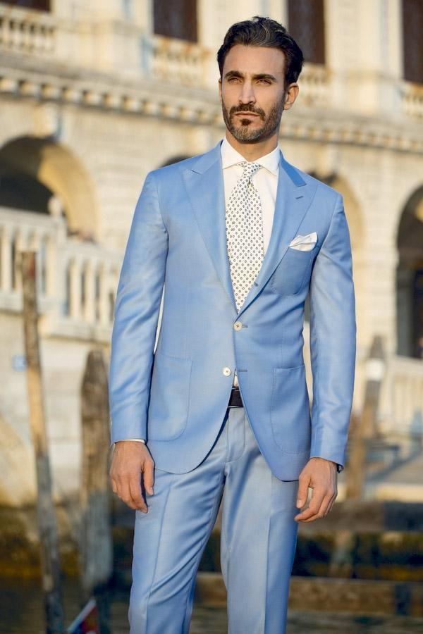 Image result for men\'s light blue suit wedding | STYLE | Pinterest ...