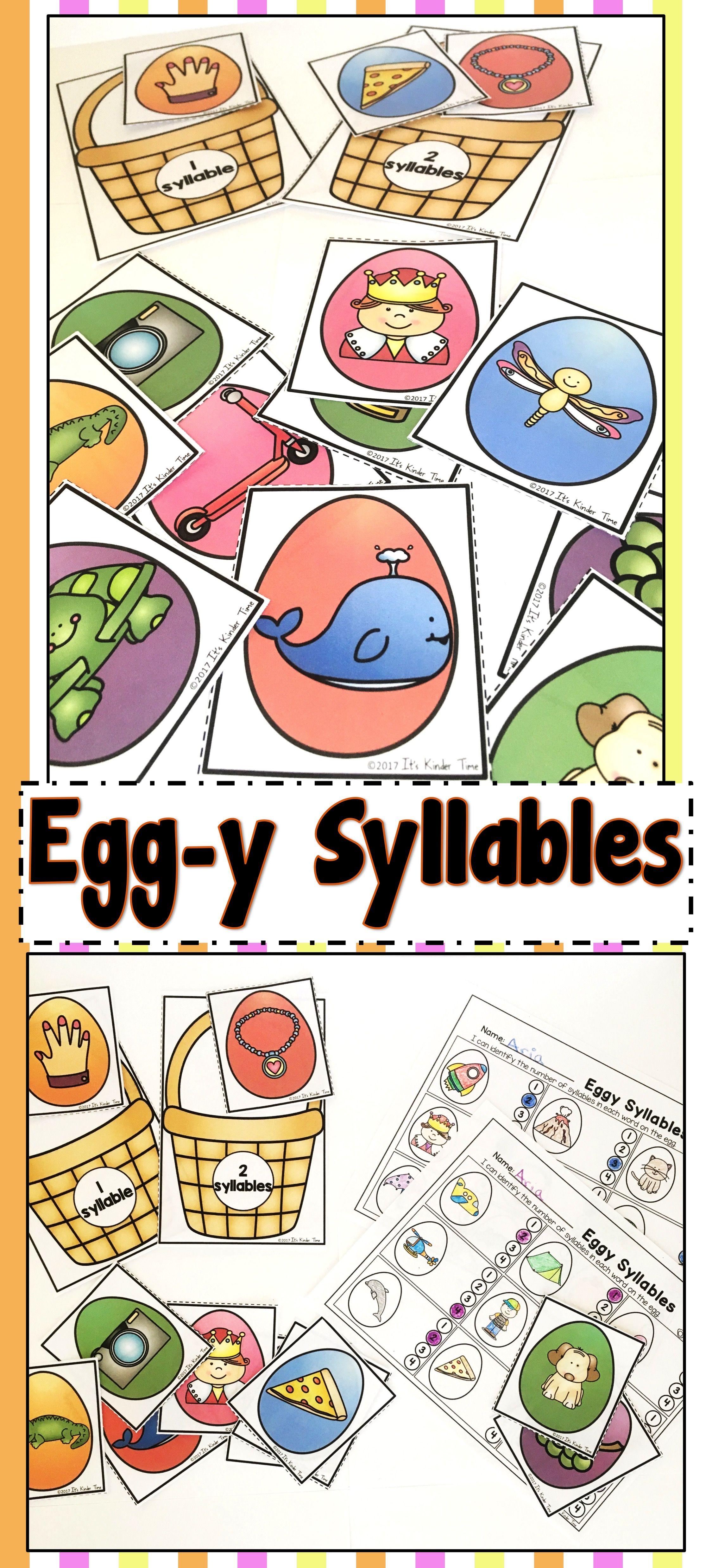 Egg Y Syllables