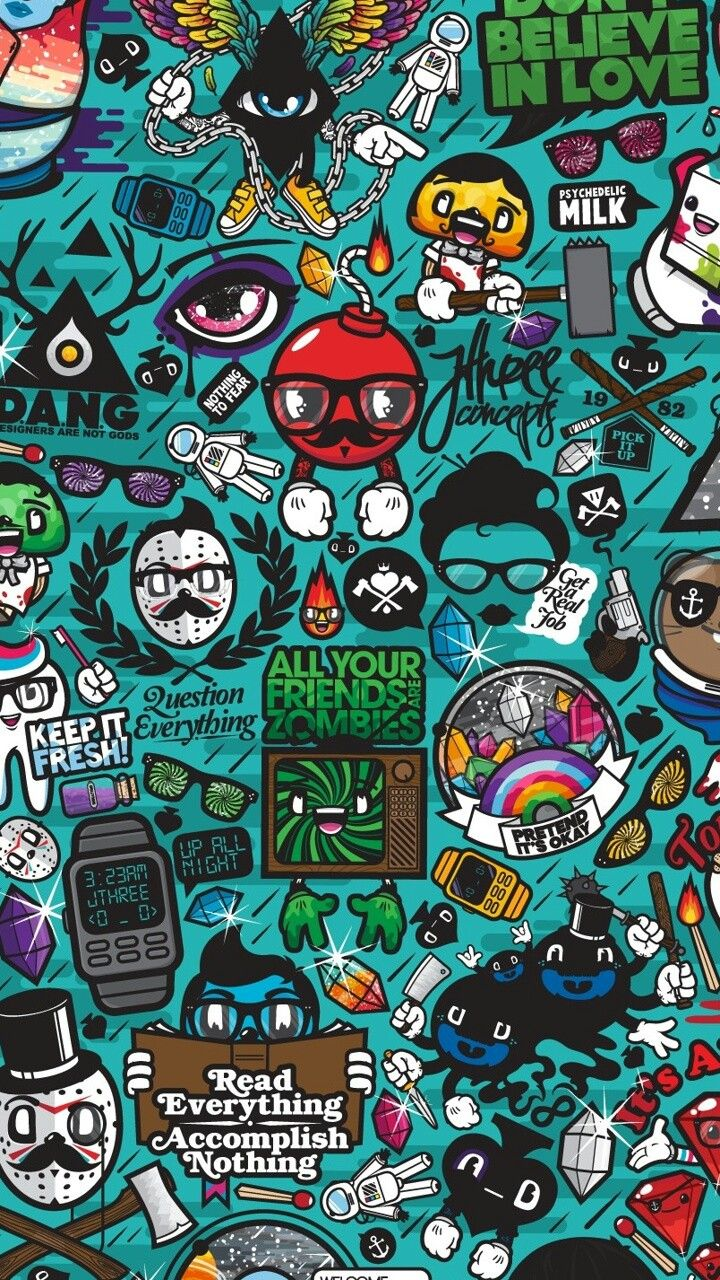 Pin by Kaytylegg on Doodles  Dope wallpapers Graffiti