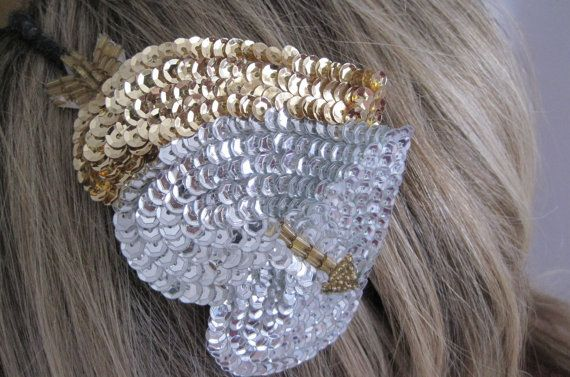 Sequence Hearts Headband by wynbrit on Etsy, $16.00