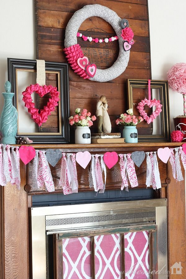 Now  have an decorating idea for valentine   day also love block set home shelf desk mantle and decor rh pinterest