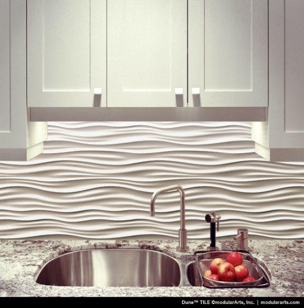 Unique Modular Art for kitchen backsplash Kitchen Tile Ideas