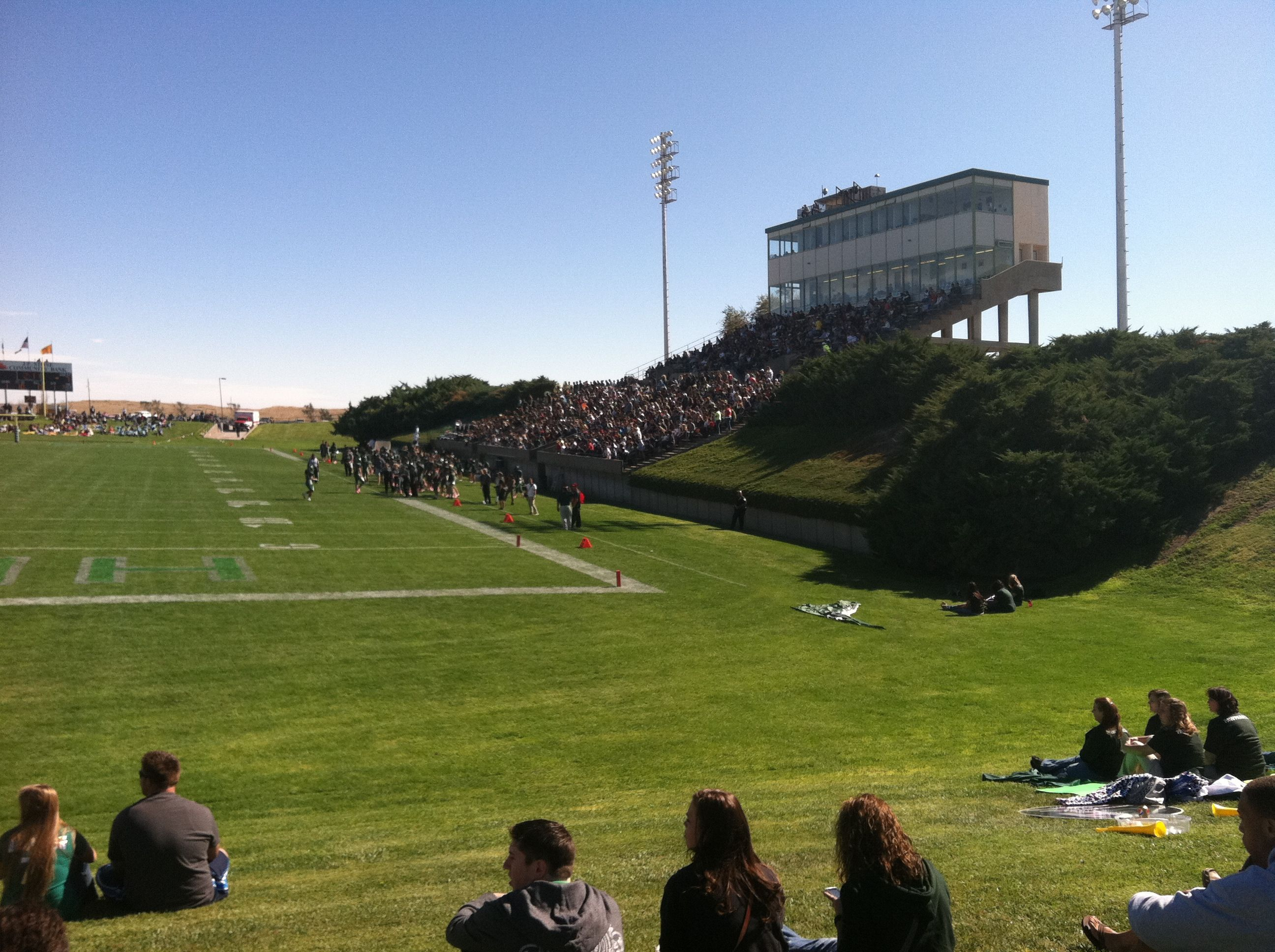 Greyhound Stadium Eastern New Mexico University Watched Many