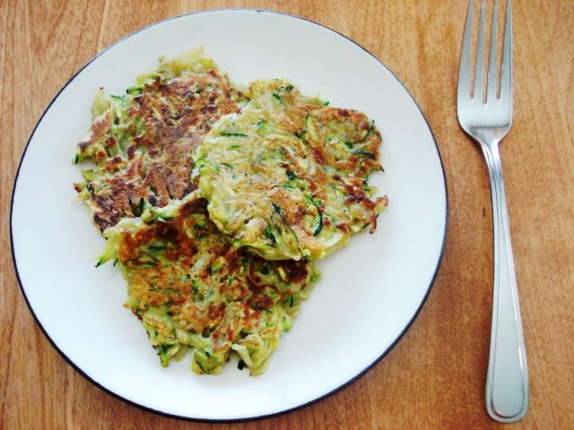 Made these last nt from Publix recipe but this is close to it yumm! zucchini-potato cakes