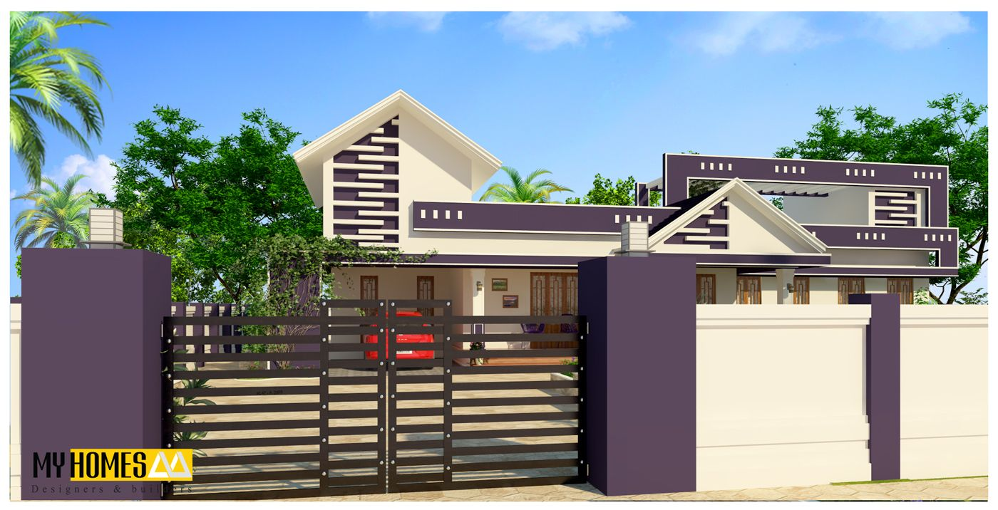 Kerala modern style home design 1900 sq ft kerala modern for Kerala home designs low cost