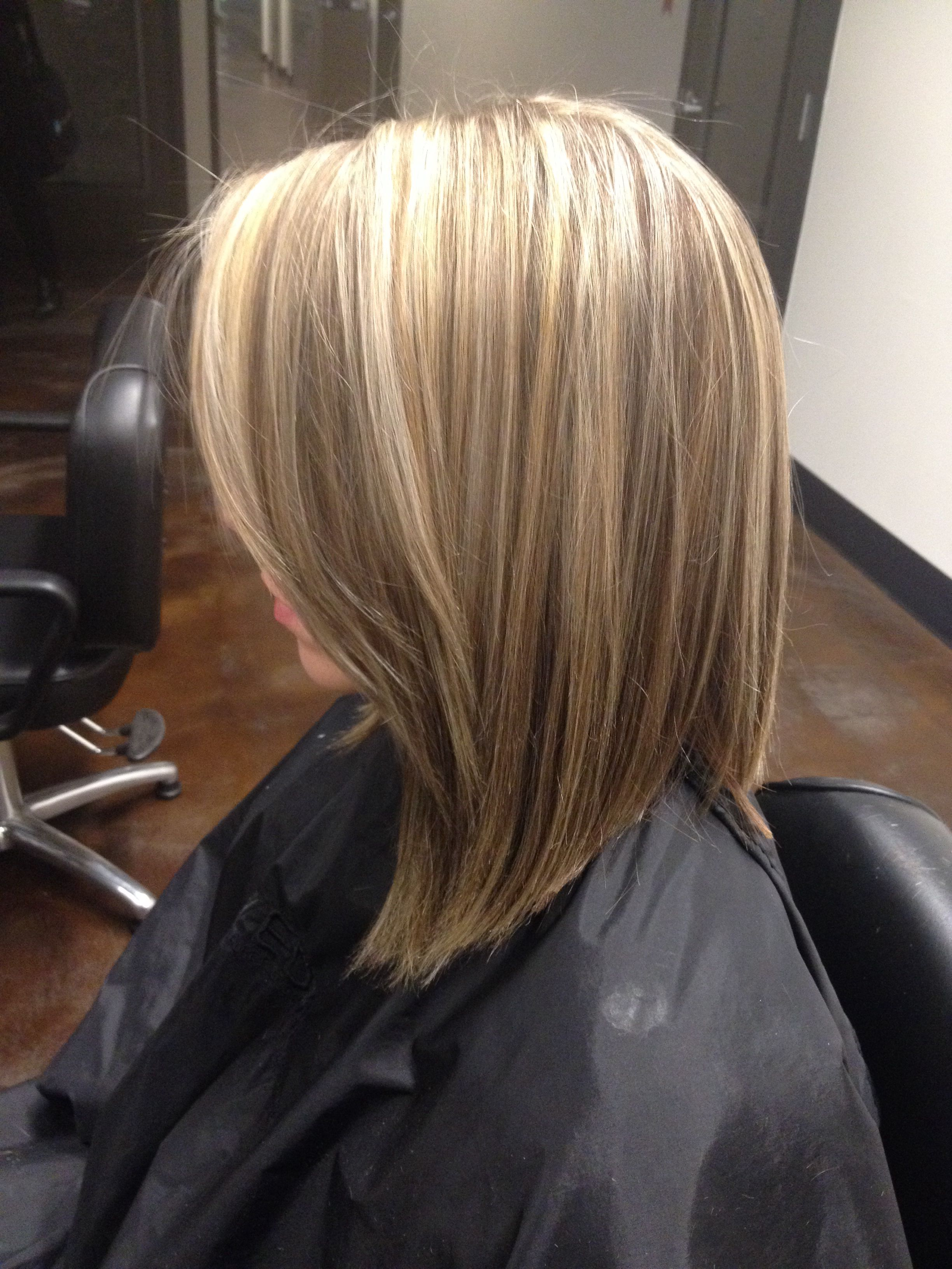 Blonde Highlights Amp Lowlights With Aveda Enlightener