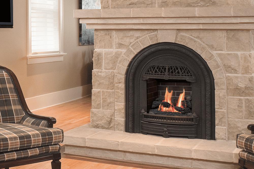 Portrait Gas Insert Valor Gas Fireplaces Fireplace Gas