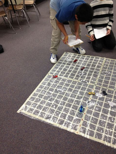 Graphing Coordinates - excellent activities, getting students out of their seats