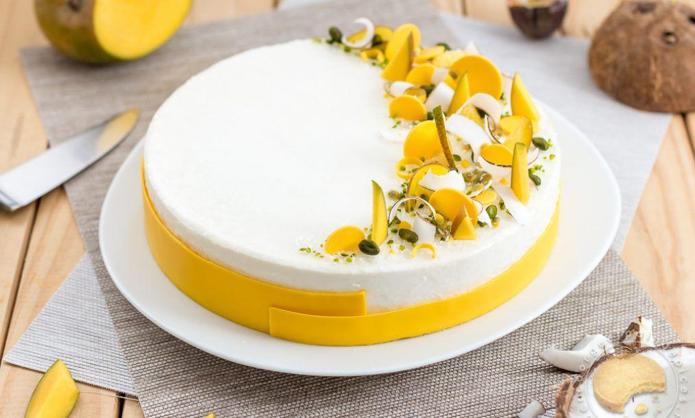Entremet à la banane ou cheesecake { sans gluten, sans