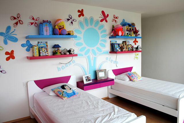 Ambientacion De Cuarto Para Ninas Diseno De Muebles Infantiles Para - Camas-infantiles-para-nia