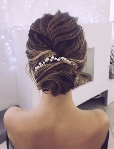 Wedding Hairstyle Featured Hairstyle Lena Bogucharskaya Www Instagram Com Lenabogucharskaya Wed Wedding Lande Leading Wedding Magazine Ideas Inspi Unique Wedding Hairstyles Prom Hair Updo Elegant Wedding Hair