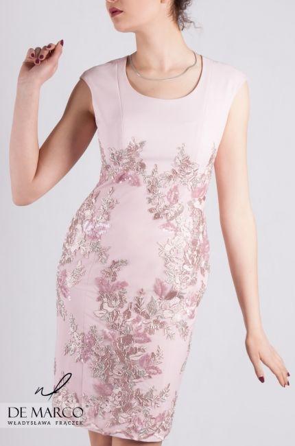 194a6ac6a7 Najpiękniejsze sukienki dla mamy weselnej szyte na miarę.