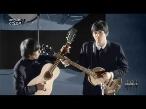 The Beatles And Love Her In Color Hd Youtube The Beatles