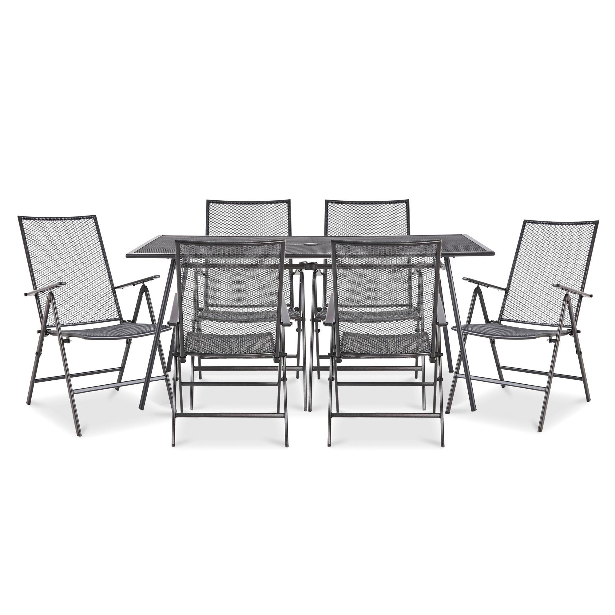Adelaide Metal 9 seater Recliner set - B&Q for all your home and