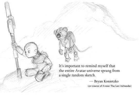 BE THE OPTIMISTIC EARTHBENDER KID