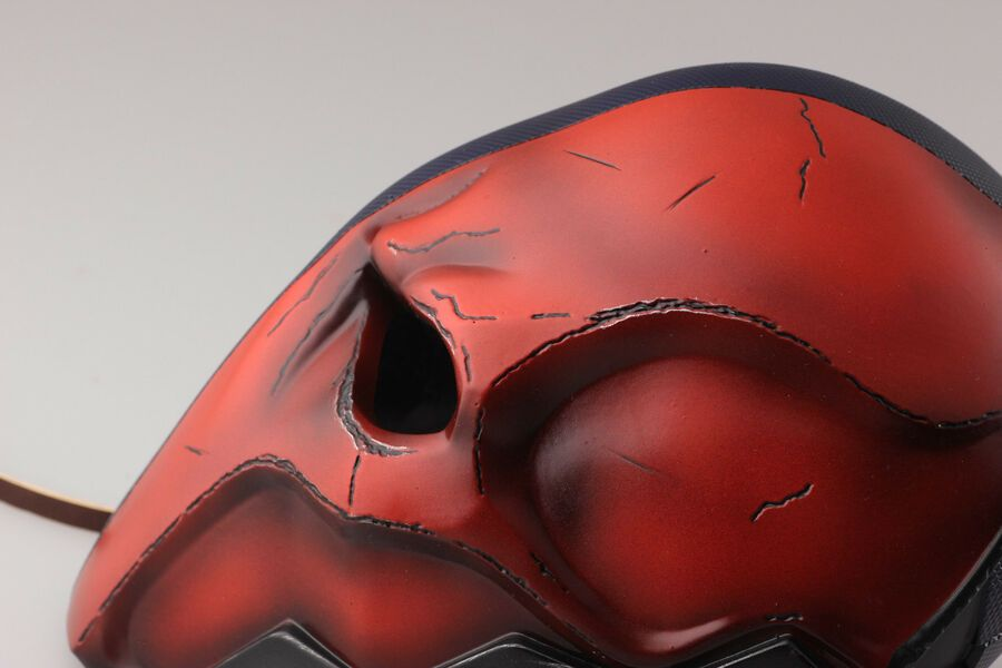 Deathstroke mask Slade Wilson Justice League Halloween helmet Terminator cosplay
