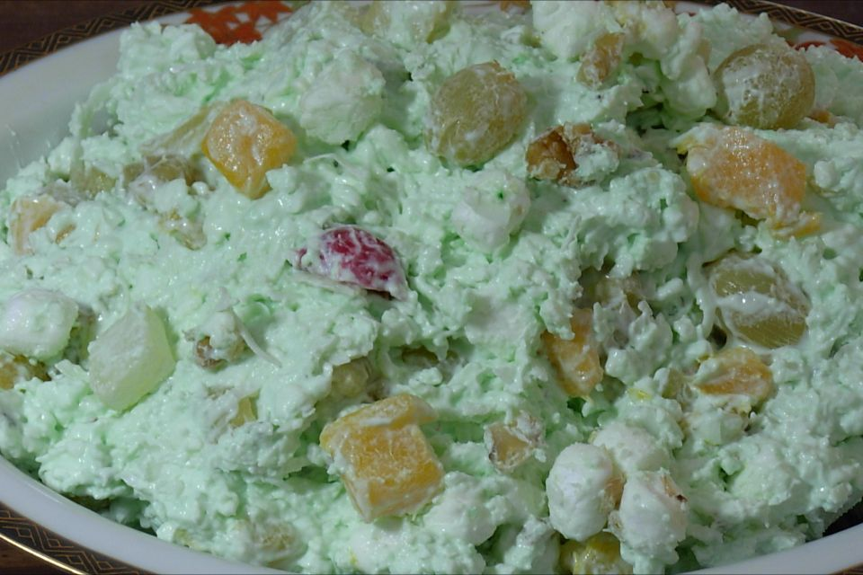 pistachio salad 4 oz coolwhip 16 oz cottage cheese small