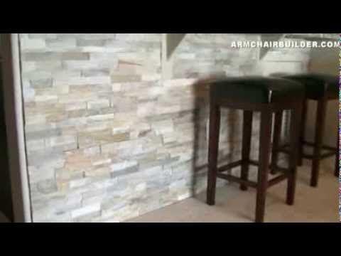 Wall Stone Installation Lowes Desert Quartz Ledgestone