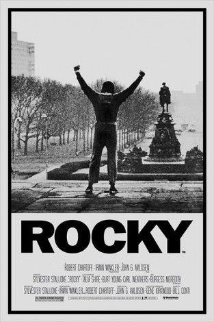 Rocky Balboa Rocky I Plakaty Filmowe Plakat Plakaty