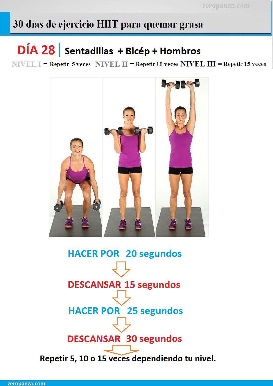 Circuito Quemagrasas : Reto de 30 días de ejercicios hiit quema grasa u2013 día 28 ejercitate