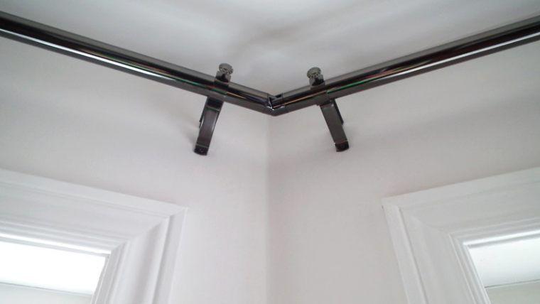 Amazing Corner Curtain Rods Buy Corner Window Curtain Rods Corner