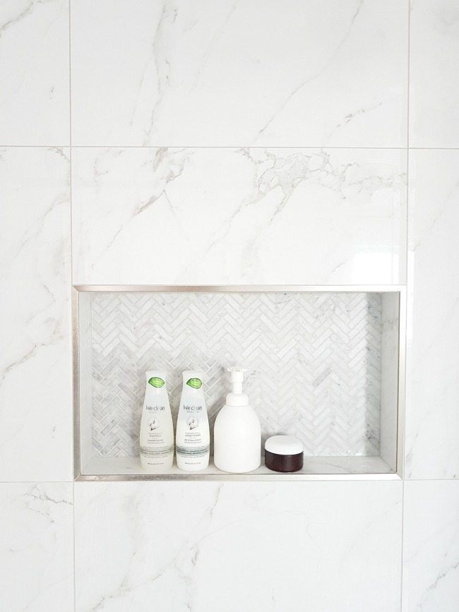 Design a Gorgeous Marble Shower (on a budget!)