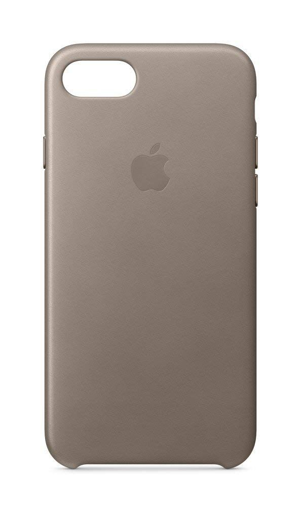 Apple Leder Case Iphone 8 Iphone 7 Taupe Fur 22 95 Amazon Iphone Ledertasche Iphone 8 Iphone 7