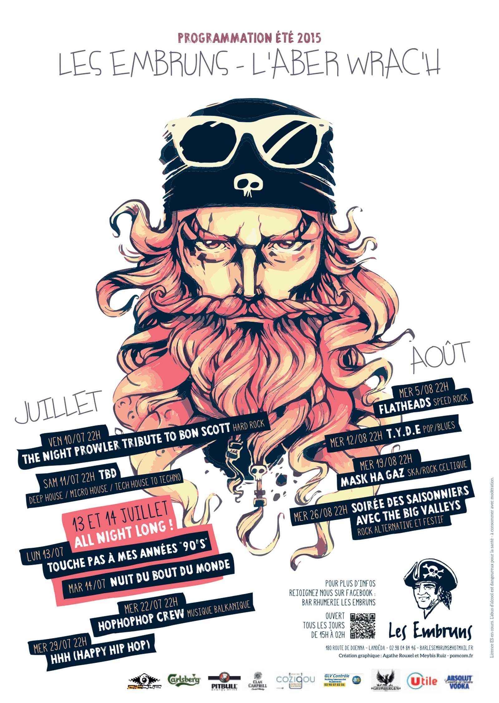Affiche Concert affiche concert - pomcom.fr | design inspirations | pinterest