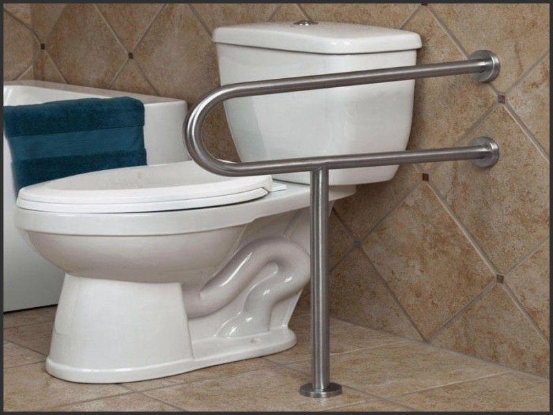 Best of handicap toilet rails height kamar mandi ide