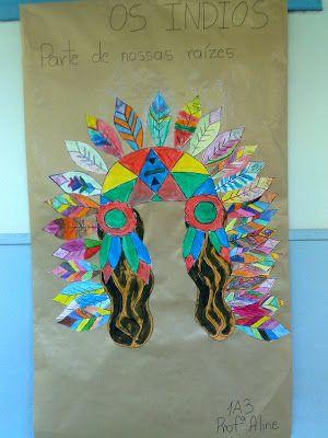 Meus Trabalhos Pedagógicos ®: Dia do Índio