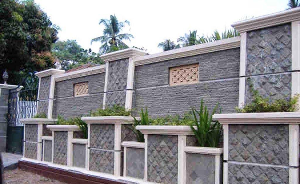 17 Model Pagar Depan Minimalis Batu Alam Terbaik Ndik Home 19 Best Pagar  Batu Alam Images Boundary Walls Fence Desain Paga… Di 2020 | Rumah Batu,  Rumah Minimalis, Rumah