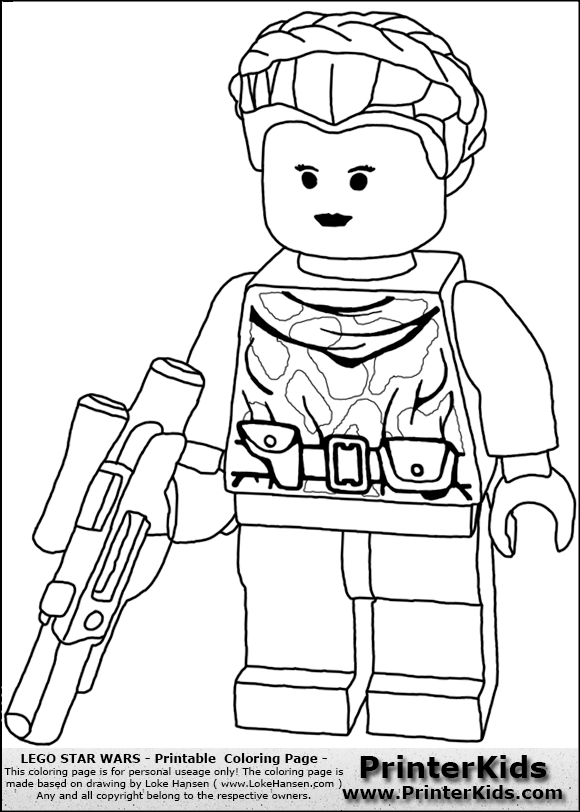 best lego princess leia coloring pages pictures - printable ... - Lego Princess Leia Coloring Pages