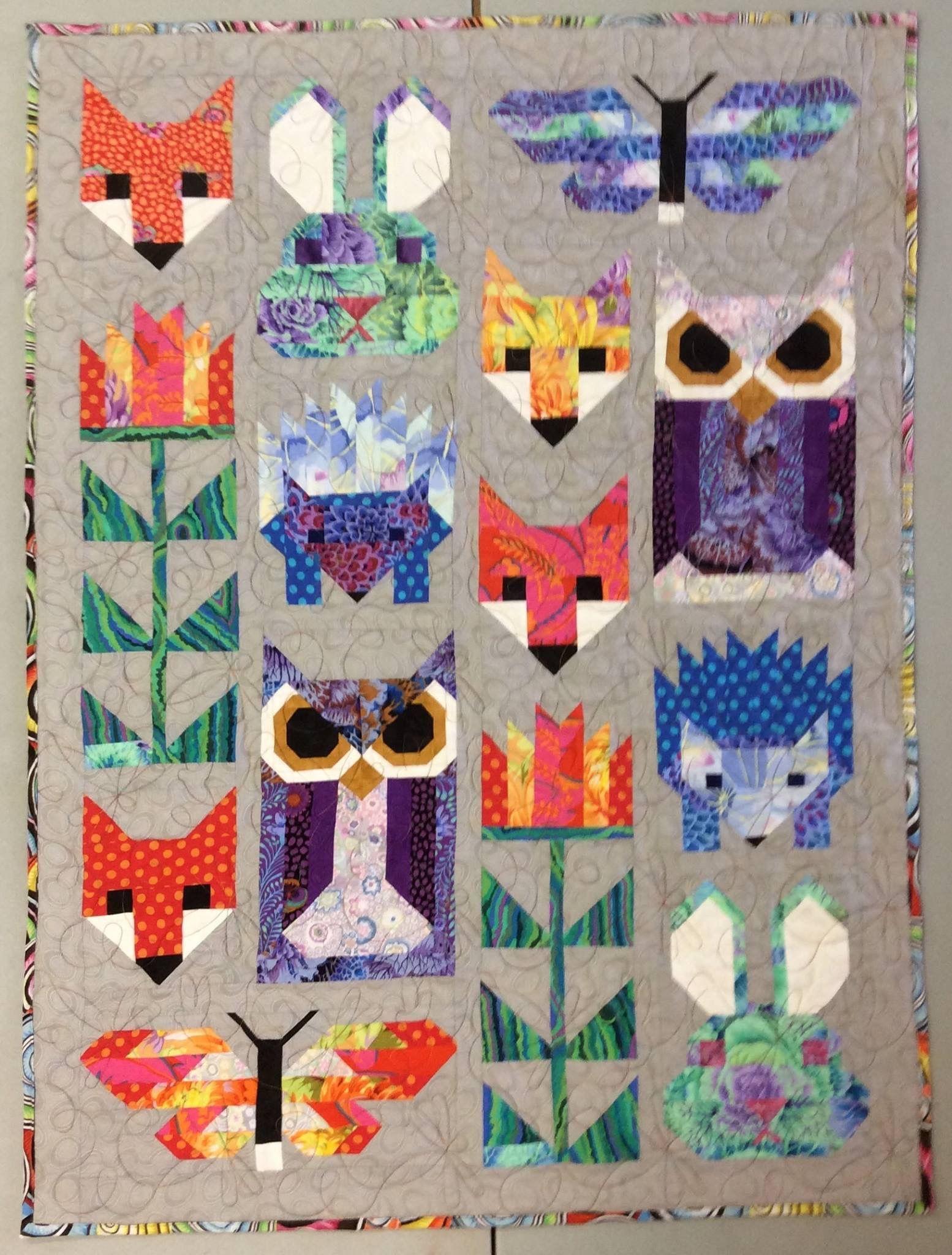 Pin von Susie Schoepke auf quilts with KF Collective fabrics ...
