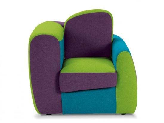 armchairs | Cool kids rooms, Kids armchair, Colorful furniture