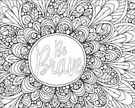 Creative Coloring Mandala Expressions Doodle Pinterest Mandala