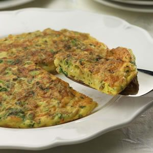 Mexican Potato Omelet - Whip up this simple, tasty omelet on those nights when it seems the refrigerator is bare. Frozen hash browns are perfect for such occasions--just look for a brand with little or no fat. And while the cheese adds some fat, it also provides almost a third of your daily calcium needs.